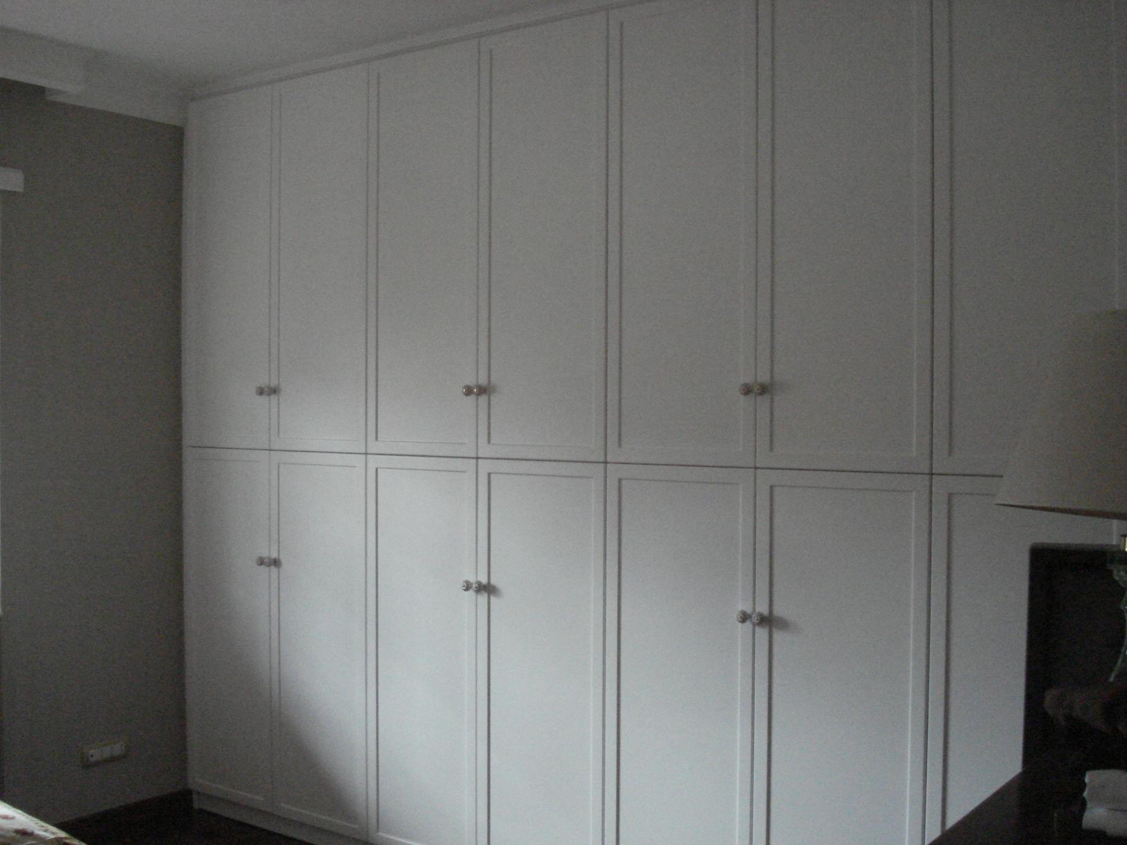 Armadio A Muro Laccato Bianco.Muller Muller Centro Rattan Fabbrica Artigianale Armadio A Muro