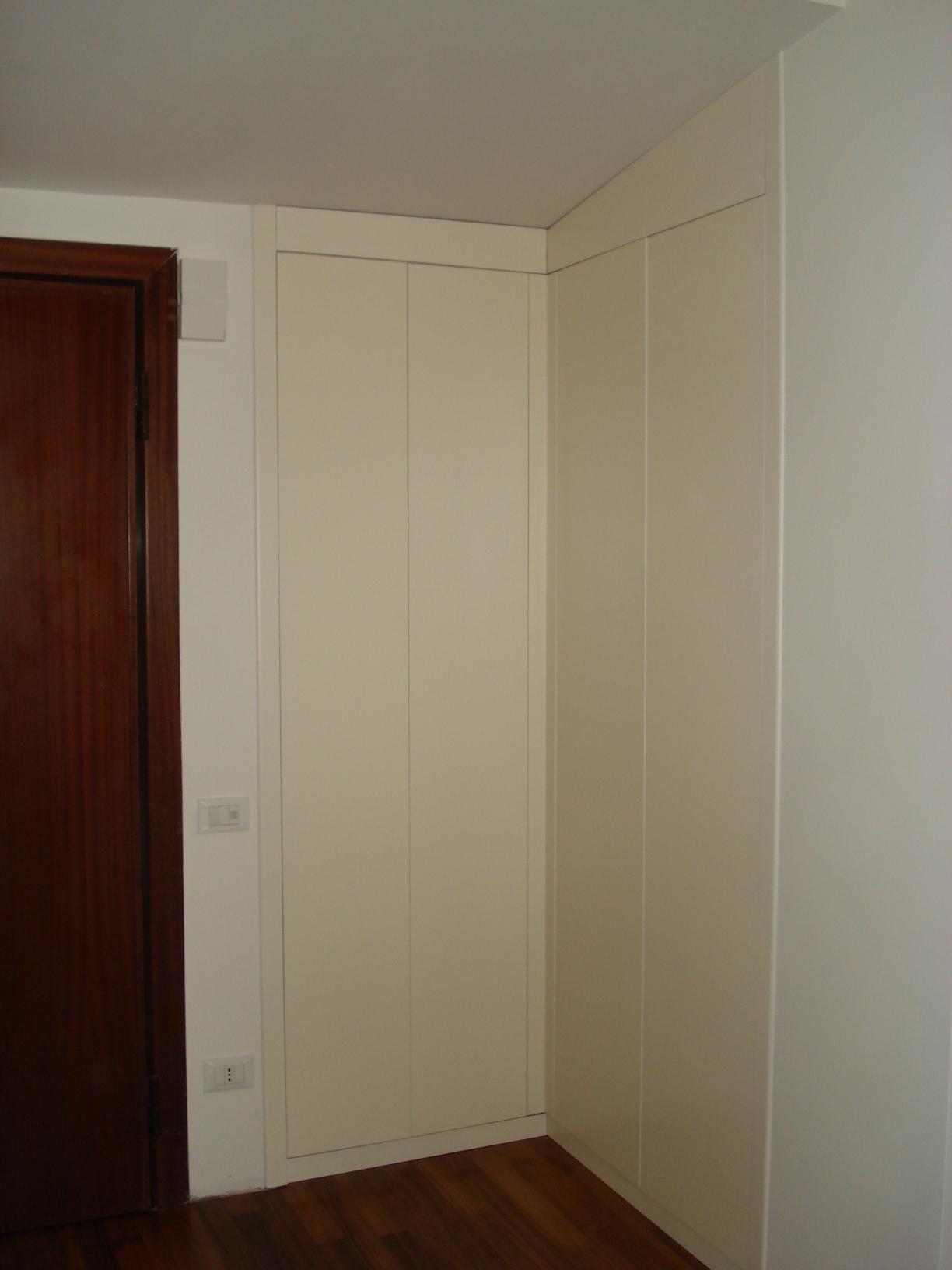 Muller muller centro rattan fabbrica artigianale armadio a muro ad angolo - Letto ad armadio a scomparsa ...